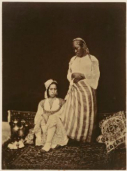 Mauresque et Négresse