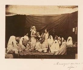 Mauresues dansant; Algérie
