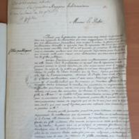 Rapport hebdomadaire, Monsieur le Préfet, Enhardi par la permission que vous m<br /> avez donnée de présenter...